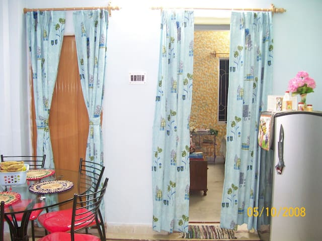 Fully furnished 2BHK Extended Stay nr DumDum Metro - Kolkata - Flat