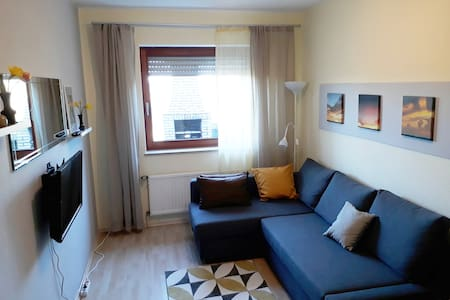 2-room apartment with terrace 4km from Göttingen