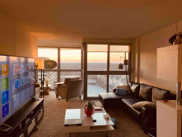 Amazing view apartment in Rockville