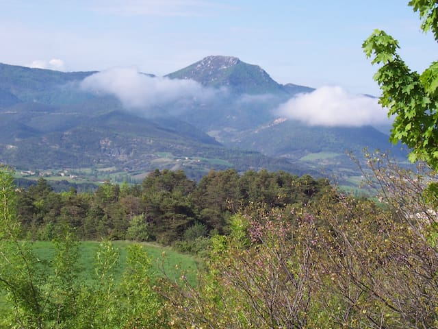 Gîte en Baronnies Provençales.