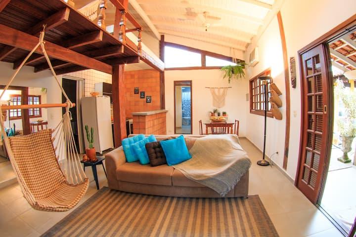 Casa Bali / Camburí - 500m da praia