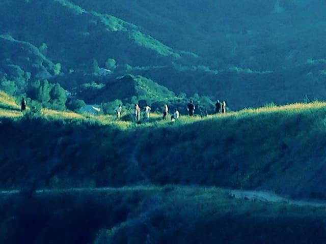 Photo shoot on the mountain