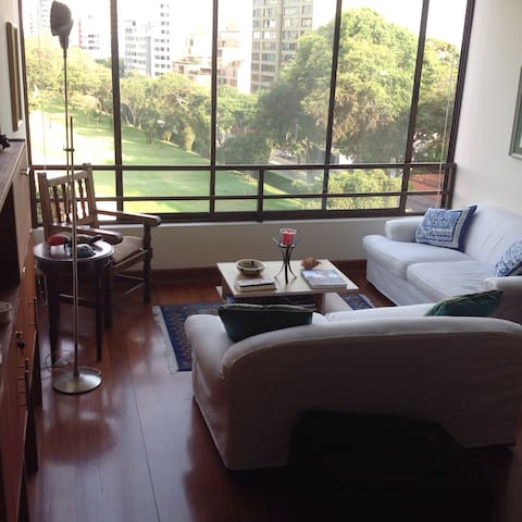 Duplex with San Isidro Golf view