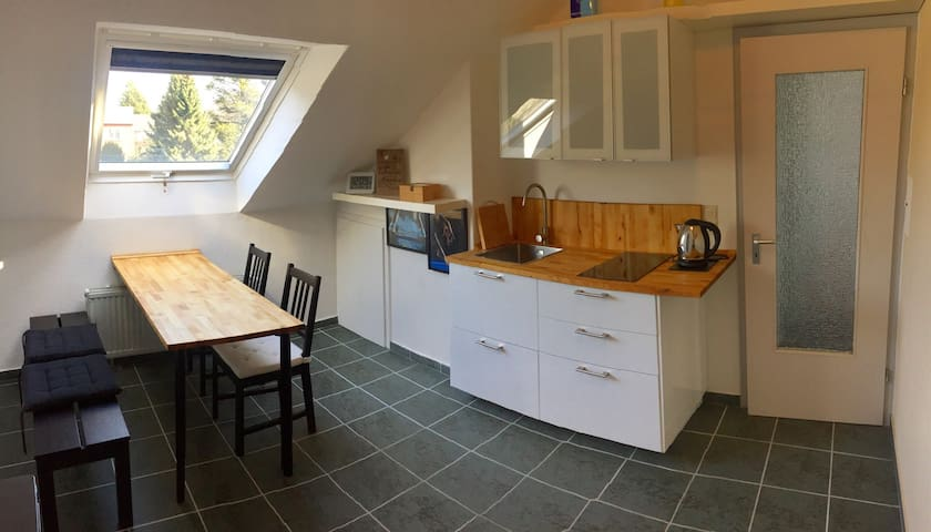 gemütliche Dachgeschosswohnung - Detmold - Adosado