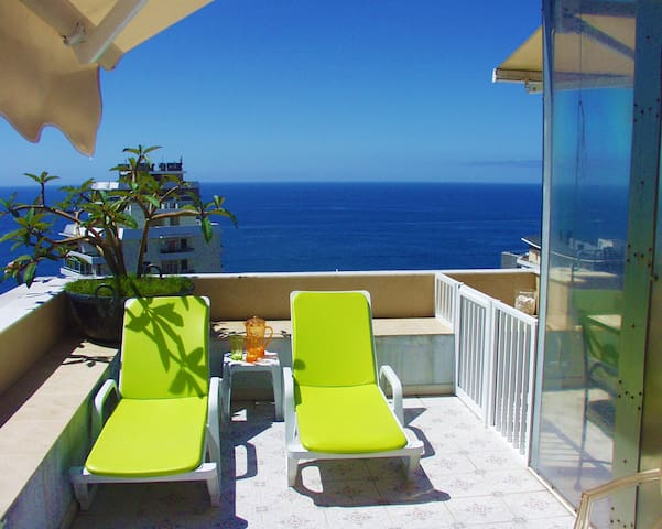 Great View Studio in Funchal - Funchal - Byt