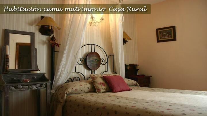 Habitación matrimonial nº 3 Casa Puyuelo