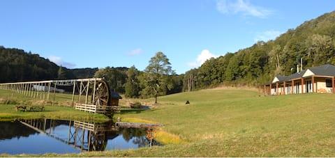 Ahaura Lodge, Waterwheel Farm.  Napoleon Hill Room