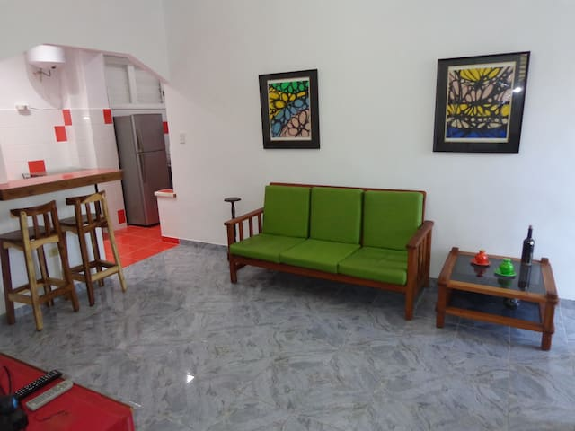 Apartment in Vedado near to the Cuban Art Factory
