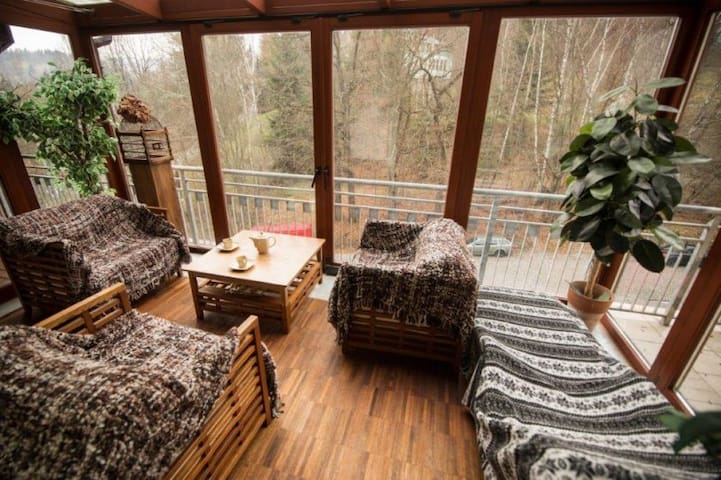 Wisła - Bukowa Góra - Apartament z Ogrodem Zimowym