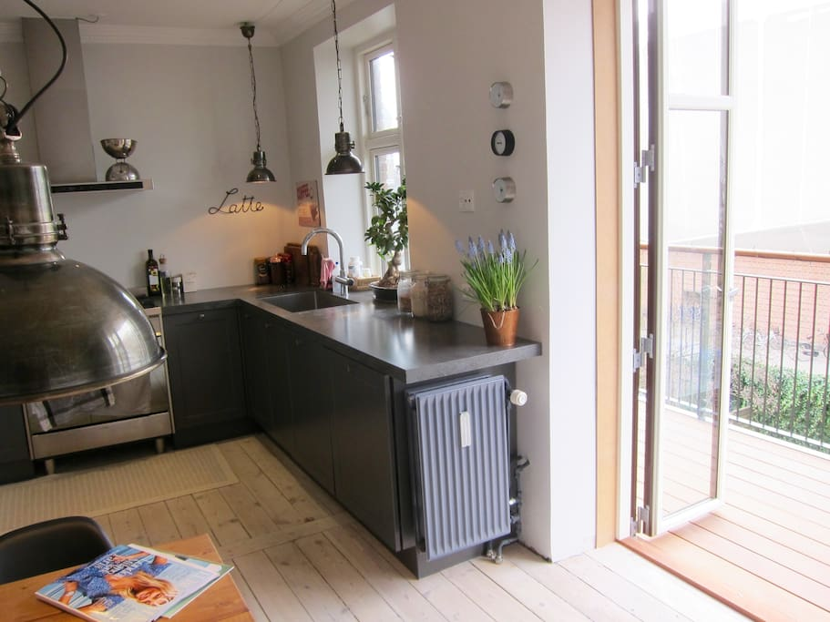 Charming kitchen-dining area