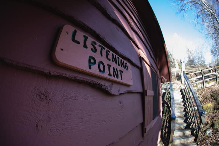 The Listening Point Nantahala Lake