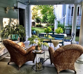 Euro-Eclectic Lowcountry Home with Open Floor Plan - Mount Pleasant - Hus