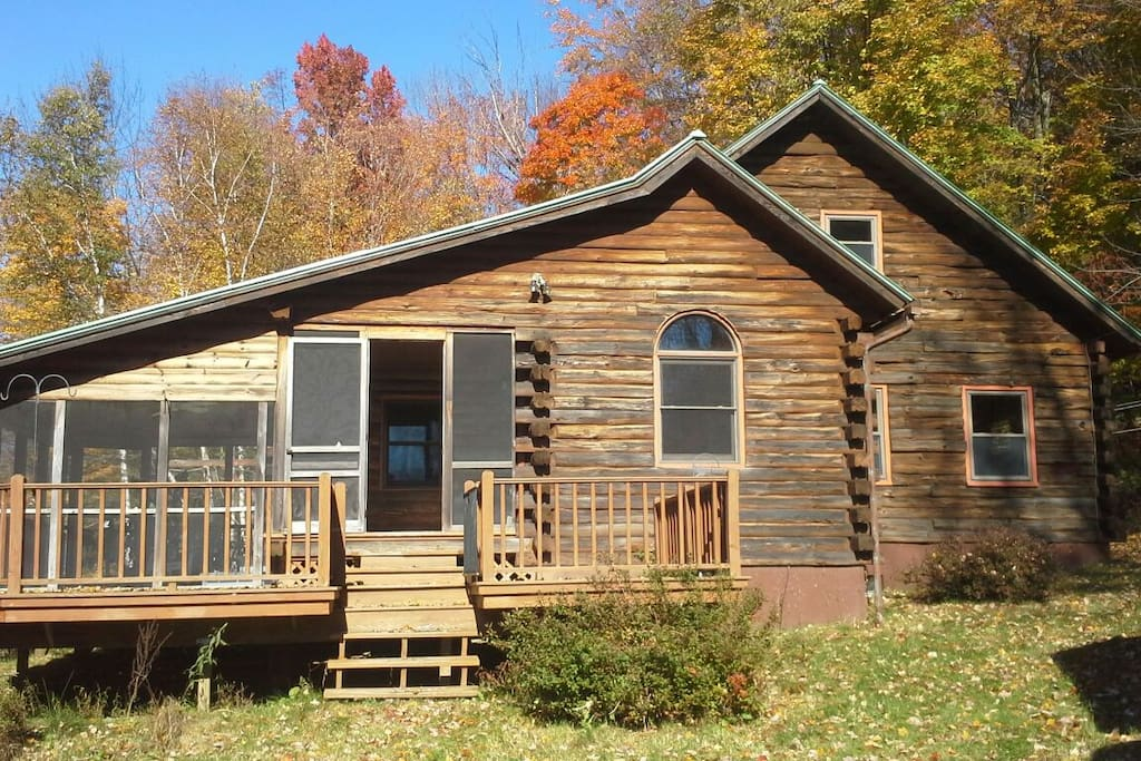 Mountain Log Cabin 1 Cabins For Rent In Bolton