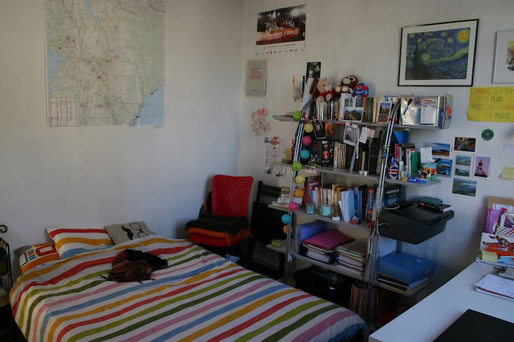 Bedroom in a house share, 20mins from Paris center - Arcueil - Dom