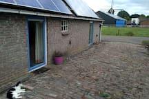 Leuke logeerruimte in Wachtum met veel privacy