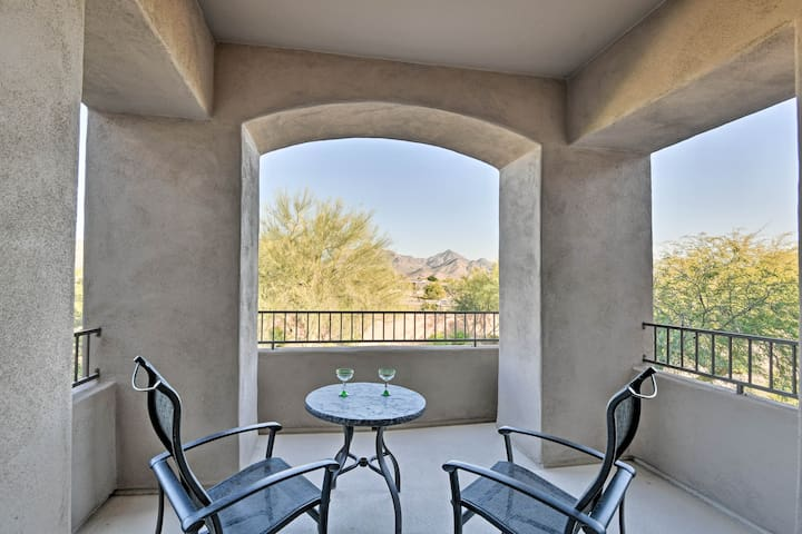 The property boasts fantastic mountain views and community amenity access.