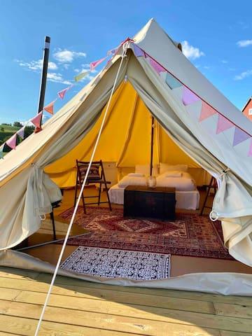 Glamping - luksus på landet (telt nr. 1)