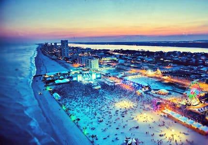 Relaxing Beach Getaway Gulf View - Great Location - Gulf Shores - Társasház