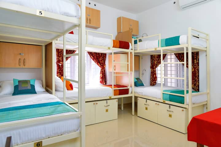 Superior A/c 6 bed dorm @Sowparnika Hermitage
