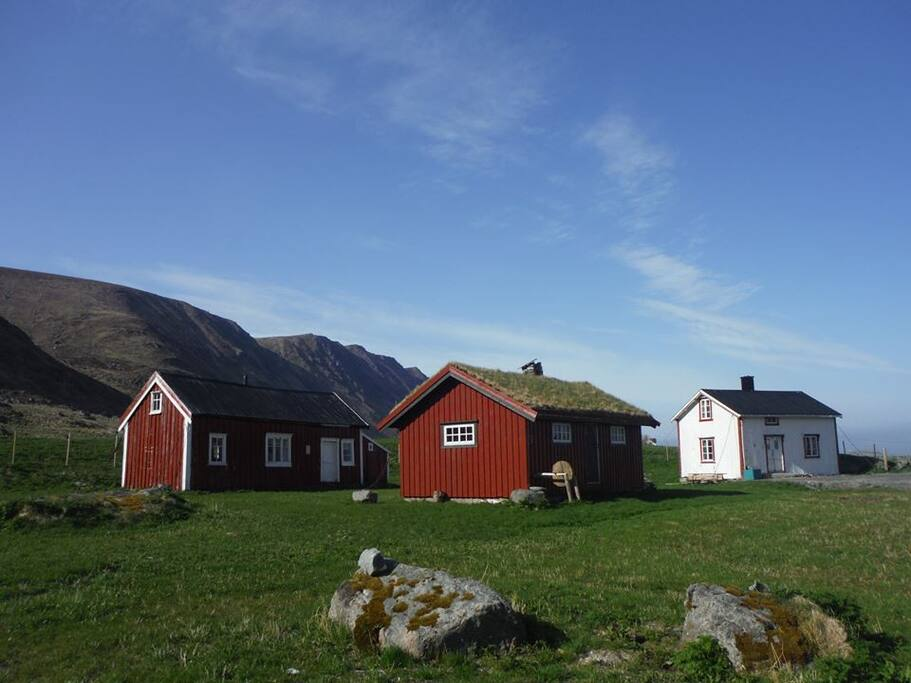 The museum is situated peacefully between farms and mountains, and the walk to the beach is not that far.
