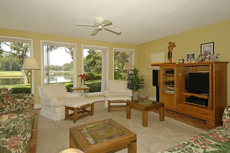 Fairway Lane 81 Lagoon Views! 3b/3b - Hilton Head - Villa