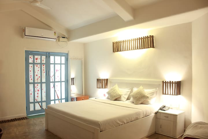Greek Themed Ultra Deluxe Room in Baga