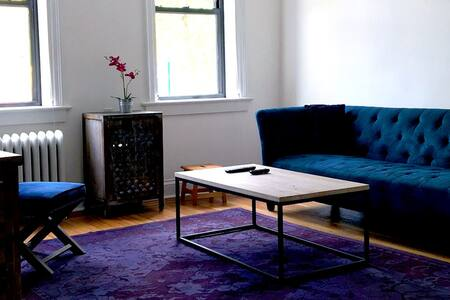 Work /Travel commuter pad turned AirBnB NY-NJ - North Bergen - Wohnung