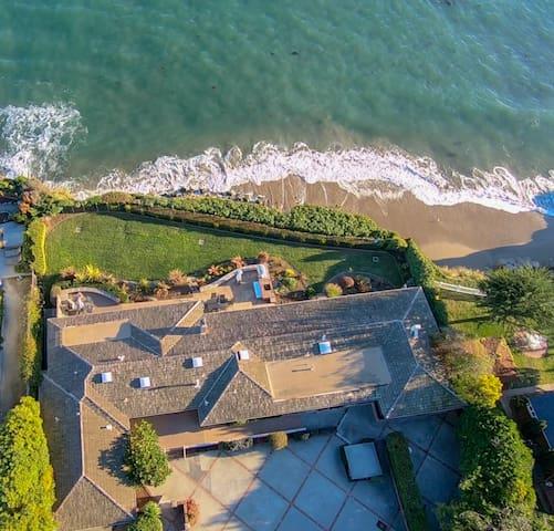 Luxurious Oceanfront Home Near Private Beach