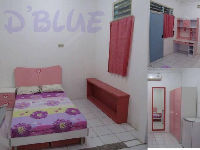 "D""Blue Rooms, Surabaya-Siwalankerto - Gayungan - Maison"