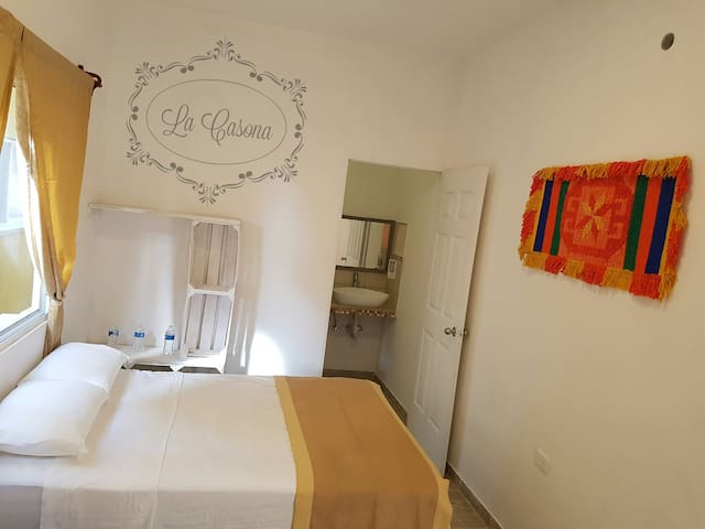 La Casona - Private double Room with fan
