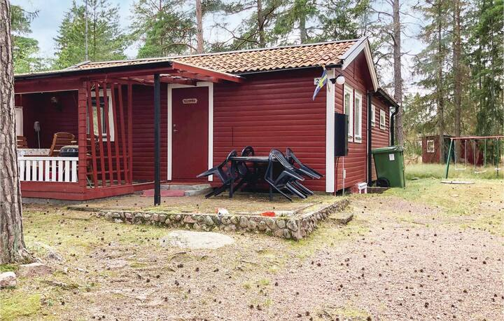 Amazing home in Mönsterås with 2 Bedrooms and WiFi