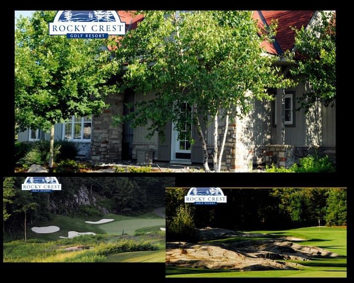3-Bedroom Villa at Rocky Crest Resort, Muskoka