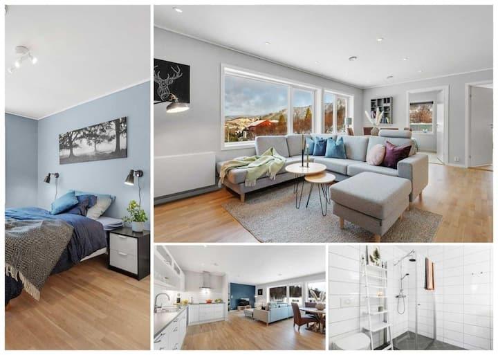 Stor og moderne leilighet i Indre Arna Bergen