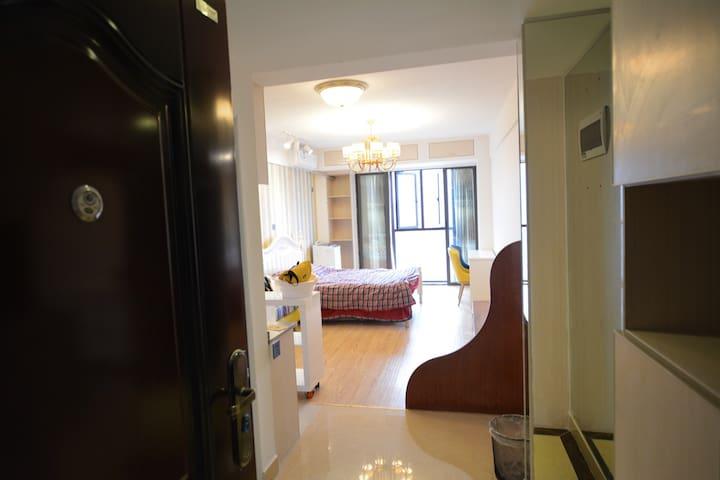 一整套带暖气交通方便近市中心贺龙体育馆安全豪华432平方尺全新大公寓 - 长沙 - Apartament