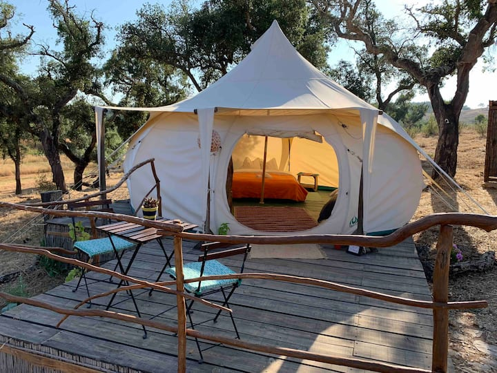 Sustainable Glamping  -  The Family Hub
