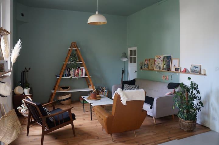 Maison chaleureuse proche hyper centre Valence