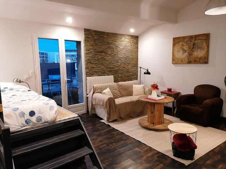 Studio au cœur de Bourgoin Jallieu