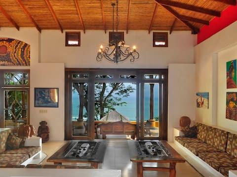 Dominical Estate 2 bedroom  ocean view apartment