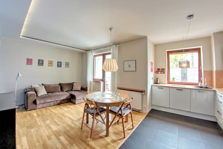 Cosy Apt in City Center / parking space inluded - Łódź - 公寓
