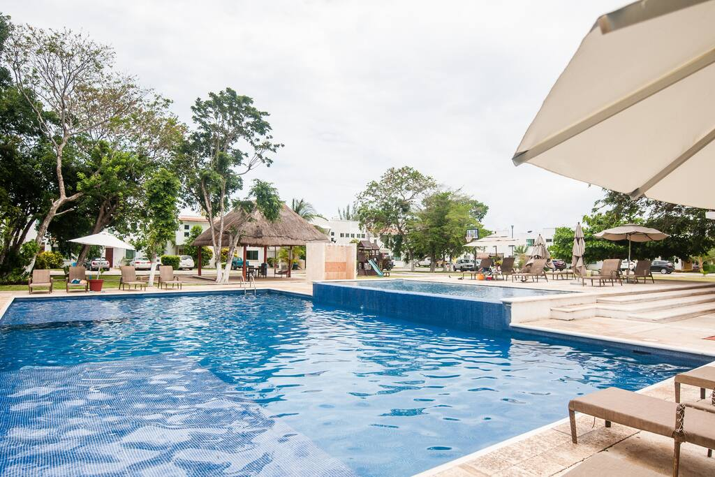 Swimming Pool and Garden area for all ages