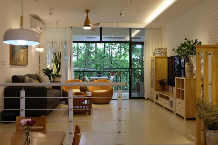 北舍里· 时光 | CBD/夷陵广场/近三峡大学/自然清新3居