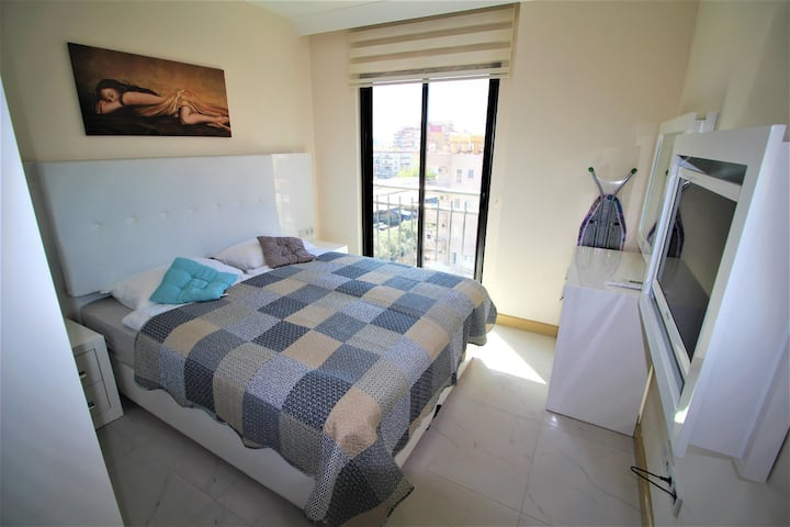 Bright &Stylish&Spacious 1+1 Room Apartment Alanya