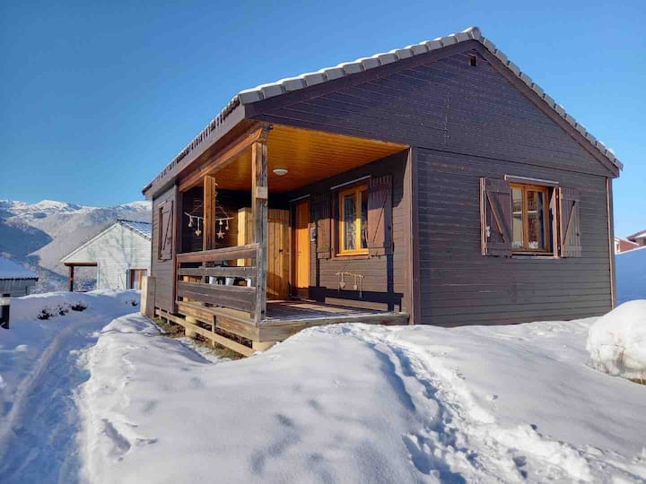 Axe les Thermes chalet (Ignaux)