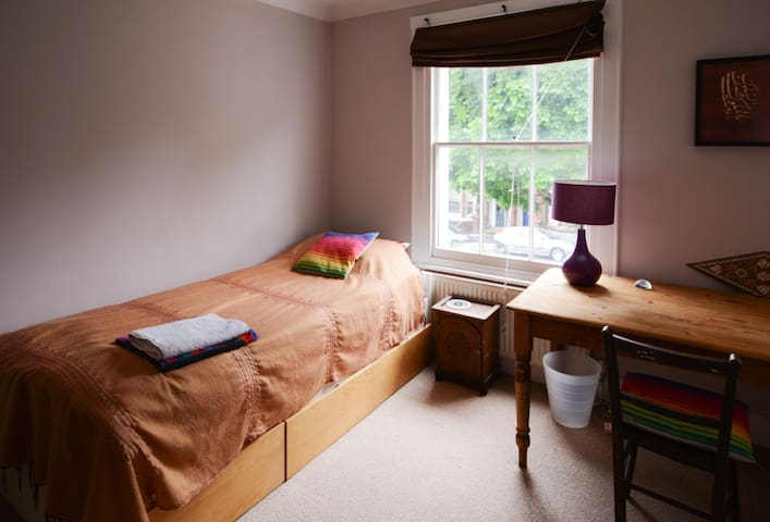 Large Comfy Single Rm in Central Brighton home - Brighton - Huis