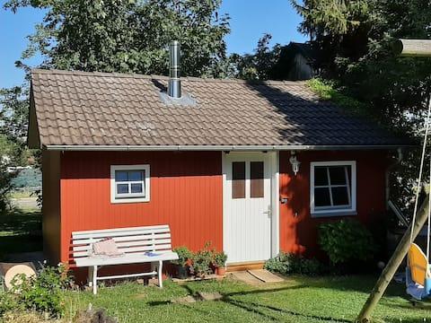 Tinyhouse im Schwedenhausstil