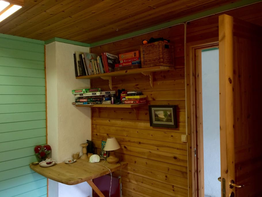 One of the bedrooms. The second room can also be found on Airbnb.