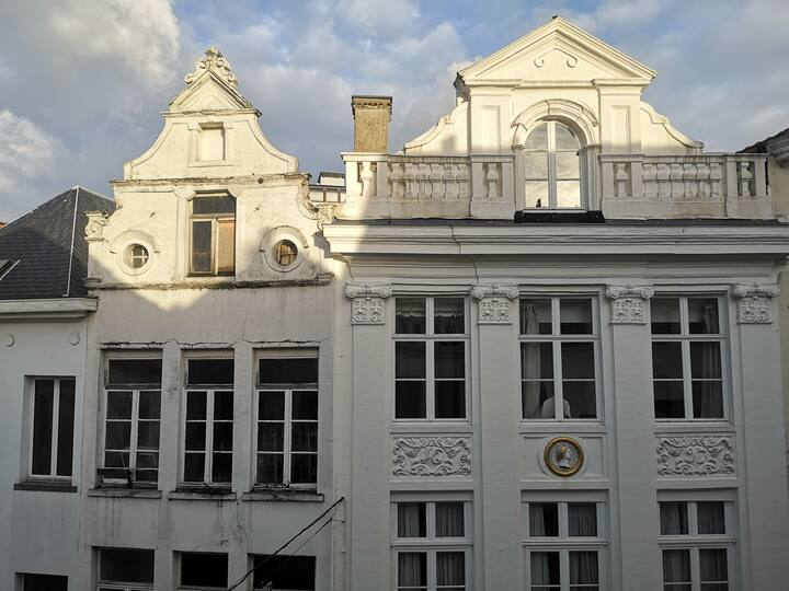 Bright apartment located 50m from Grand Place