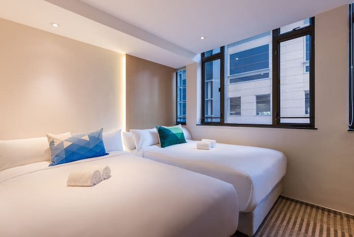 Deluxe Twin Room for Family @ Tsim Sha Tsui