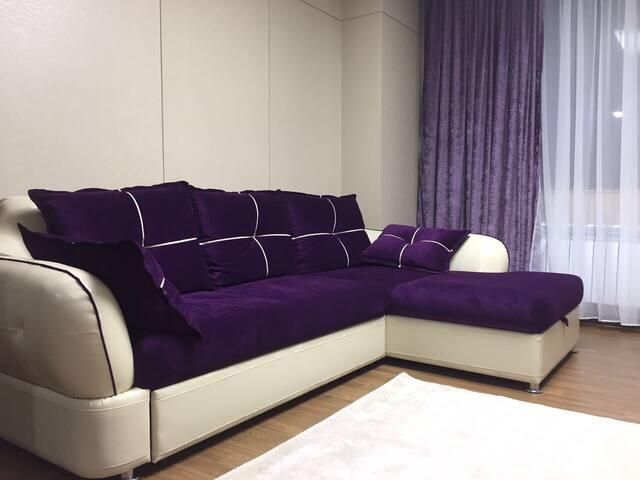 Элитные 2-комн апартаменты - Астана - Apartamento