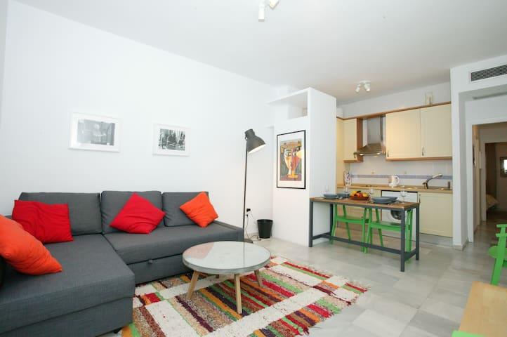 Apartamento luminoso en el centro de Sevilla